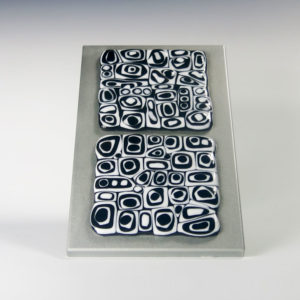 Fused Glass Abstract Wall Art